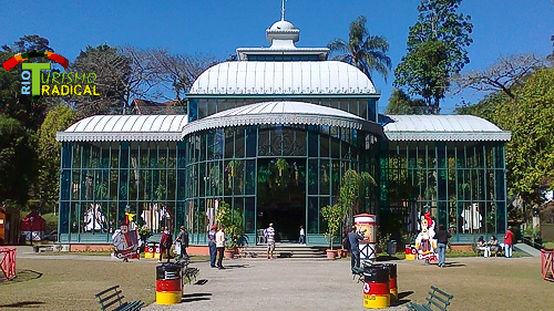 The crystal palace of petropolis