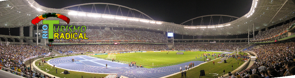 Olympic stadium of Rio 2016