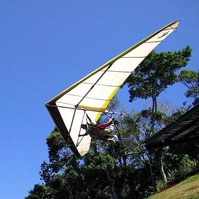 Flying over Tijuca Natonal Park