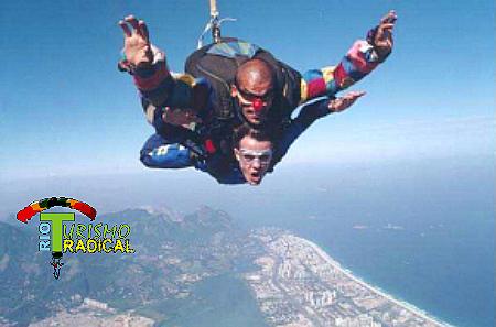 saut en parachute rio de janeiro